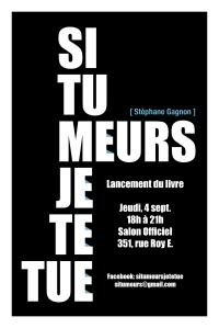 Lancement Stéphane Gagnon