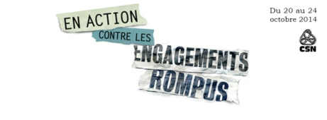 Engagements rompus