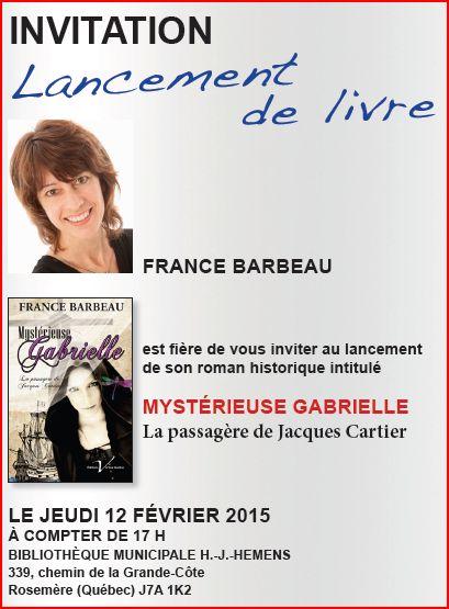 image lancement F. Barbeau