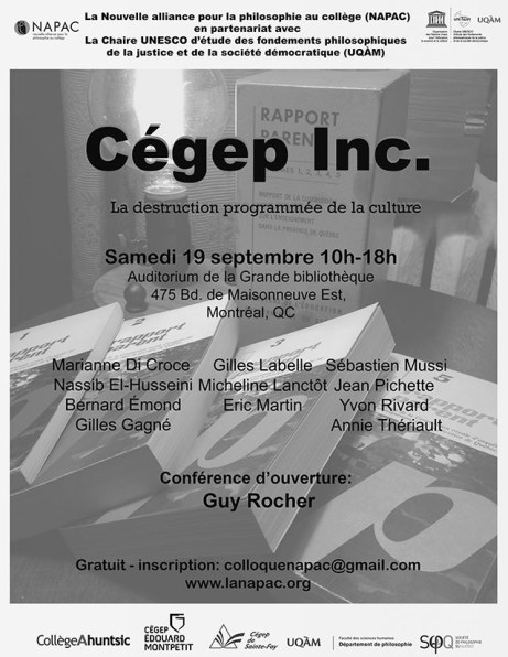 colloque cégep inc