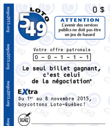 Boycott Loto-Québec