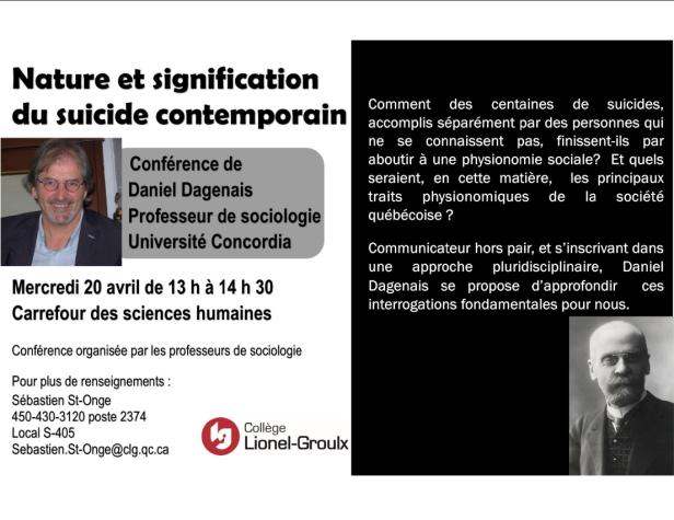 Conférence suicide