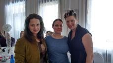 Marilyn Brault, Sandrina Joseph et Sonia De Bénédictis