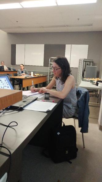 Isabelle Pontbriand, professeure de littérature