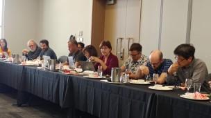 Chantal Pilon qui parle de la révision du programme de Bureautique