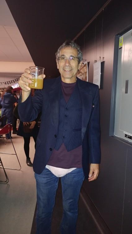 Pierre Maus déguisé en Stéphane Chalifour...dans 20 ans :)