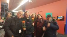 ReprésentantEs de Marie-Victorin, St-Jean, Montmorency, Joliette et Ahuntsic.